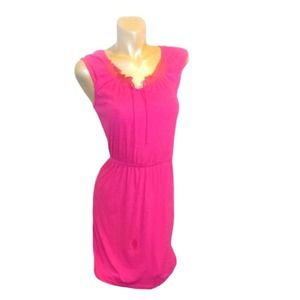 OLD NAVY CASUAL PINK DRESS XS/TP